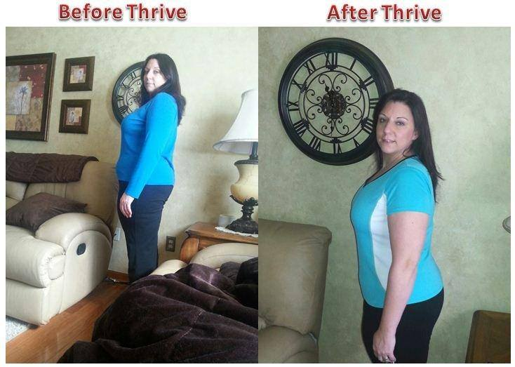 Thrive Experience Before and After Week 8